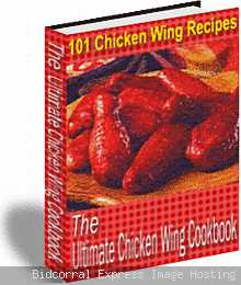 Ultimate Chicken Wing Cookbook eBook 101 Recipes PDF