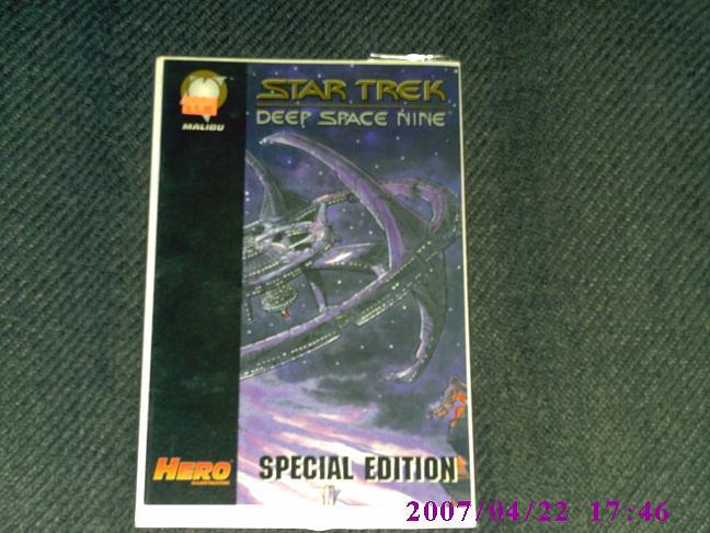 Star Trek Deep Space Nine Hero Illustrated Special Ed